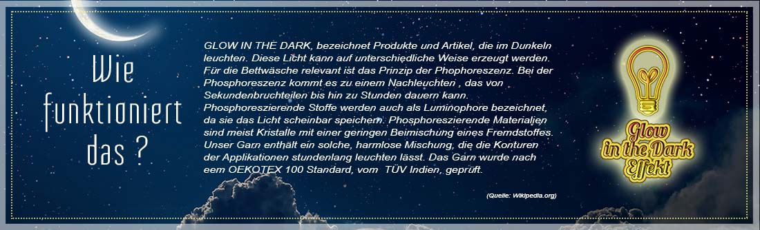 wie funktioniert glow in the dark